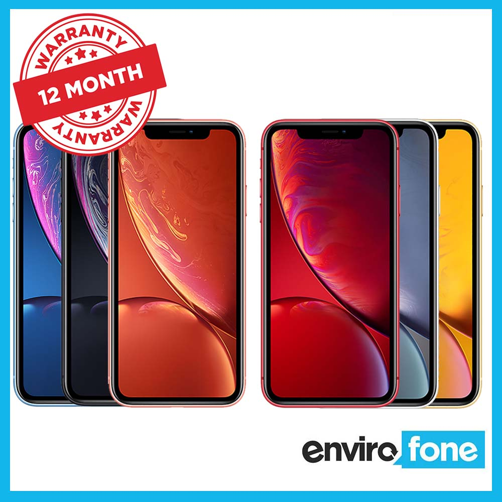 Apple-iPhone-XR-64GB-128GB-256GB-All-Colours-Unlocked-Refurbished-Smartphone